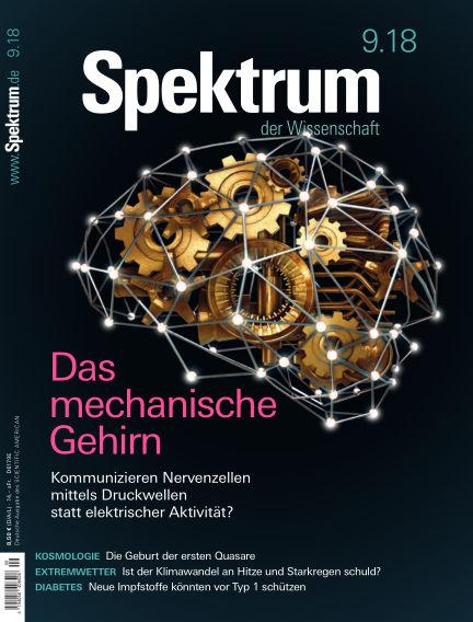 Spektrum der Wissenschaft August 18, 2018 00:00
