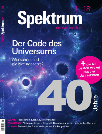 Spektrum der Wissenschaft October 20, 2018 00:00