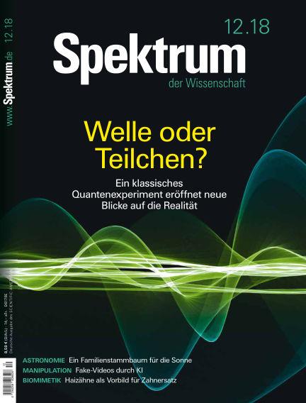 Spektrum der Wissenschaft November 17, 2018 00:00