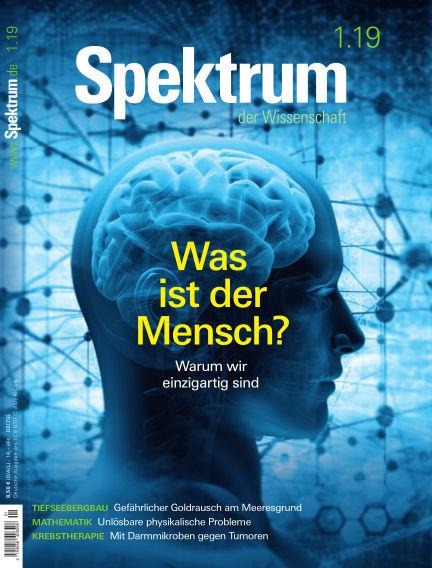Spektrum der Wissenschaft December 15, 2018 00:00