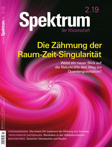 Spektrum der Wissenschaft January 19, 2019 00:00
