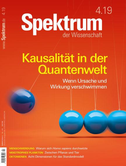 Spektrum der Wissenschaft March 23, 2019 00:00