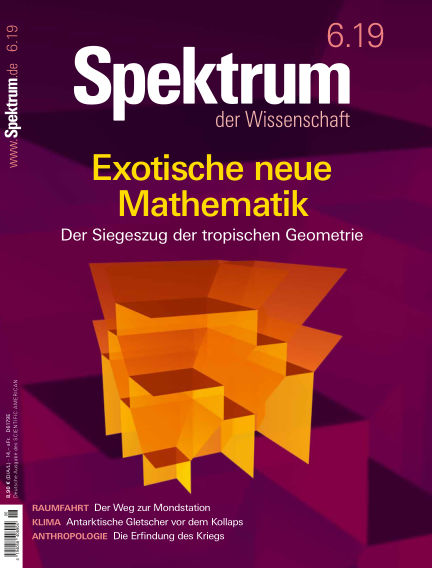 Spektrum der Wissenschaft May 18, 2019 00:00
