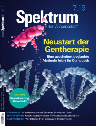 Spektrum der Wissenschaft 7 2019