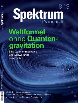 Spektrum der Wissenschaft 8 2019