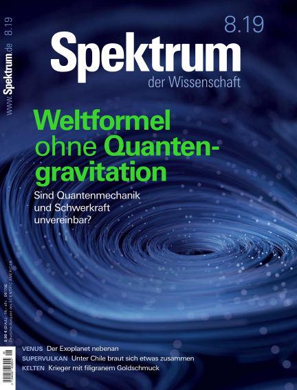 Spektrum der Wissenschaft July 20, 2019 00:00