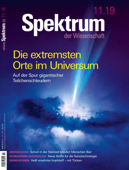 Spektrum der Wissenschaft October 19, 2019 00:00