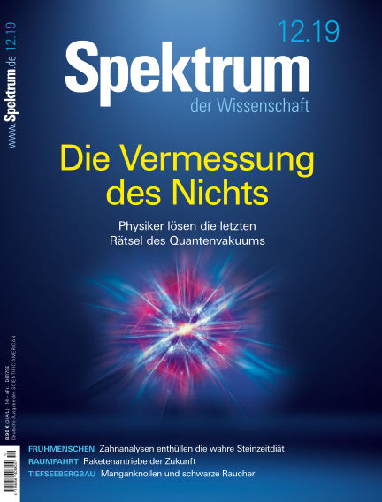 Spektrum der Wissenschaft November 16, 2019 00:00