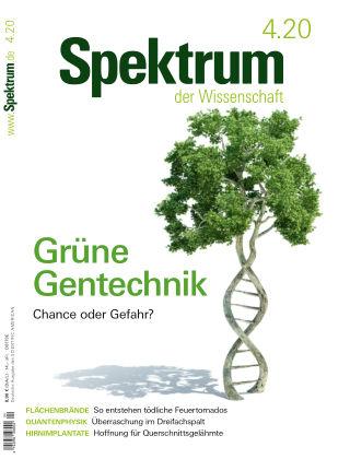 Spektrum der Wissenschaft 4 2020