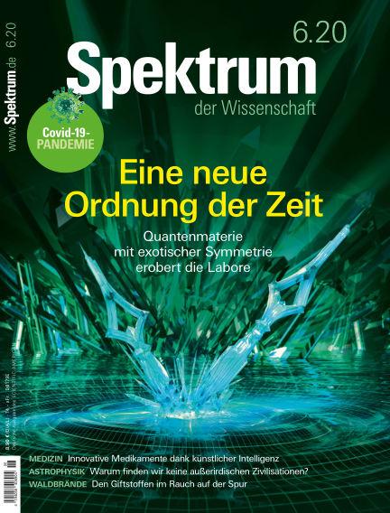 Spektrum der Wissenschaft May 16, 2020 00:00