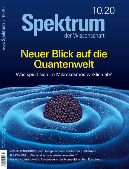 Spektrum der Wissenschaft September 19, 2020 00:00