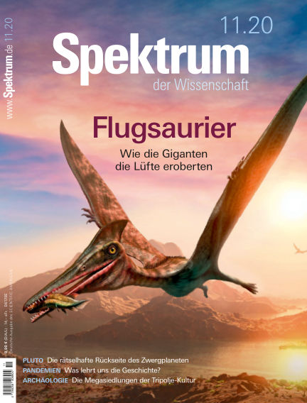 Spektrum der Wissenschaft October 17, 2020 00:00