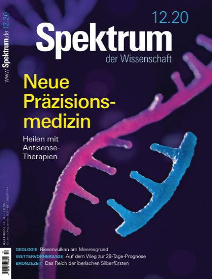 Spektrum der Wissenschaft November 14, 2020 00:00