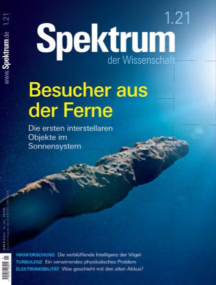 Spektrum der Wissenschaft December 12, 2020 00:00