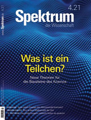 Spektrum der Wissenschaft 4 2021