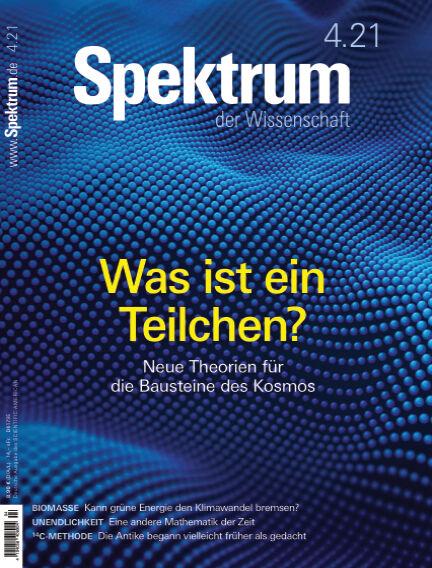 Spektrum der Wissenschaft March 20, 2021 00:00