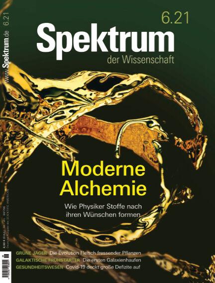 Spektrum der Wissenschaft May 15, 2021 00:00
