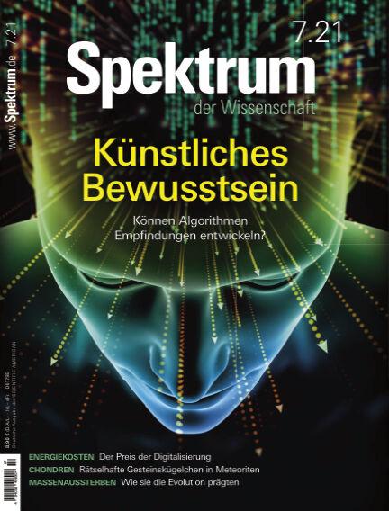 Spektrum der Wissenschaft June 19, 2021 00:00