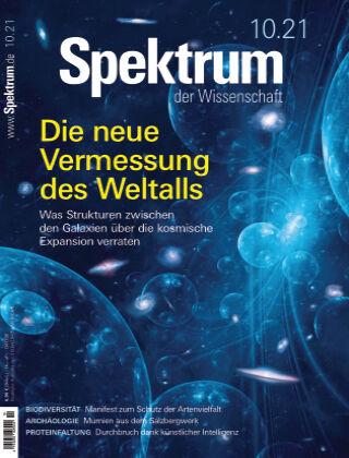 Spektrum der Wissenschaft 10 2021