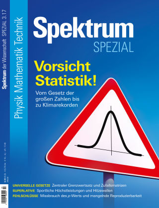 Spektrum Spezial Vorsicht Statistik
