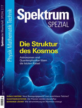 Spektrum Spezial Struktur des Kosmos