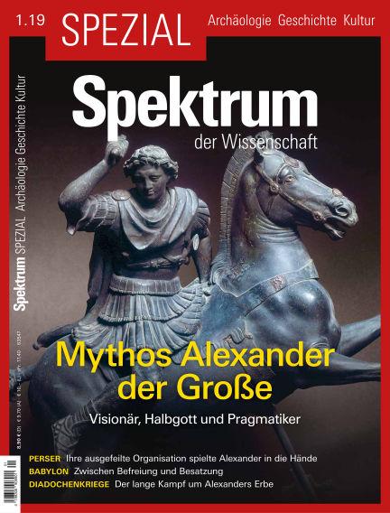 Spektrum Spezial March 15, 2019 00:00