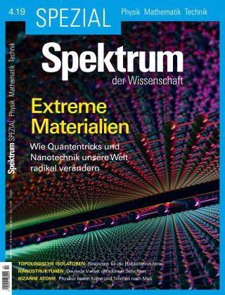 Spektrum Spezial Extreme Materialien