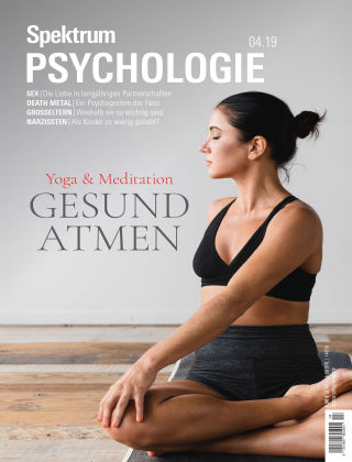 Spektrum Psychologie 4 2019 (Juli August)