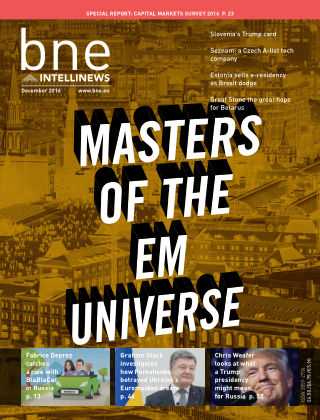 bne IntelliNews December 2016