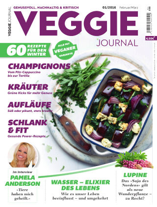 Veggie Journal (eingestellt) Nr. 01 2016