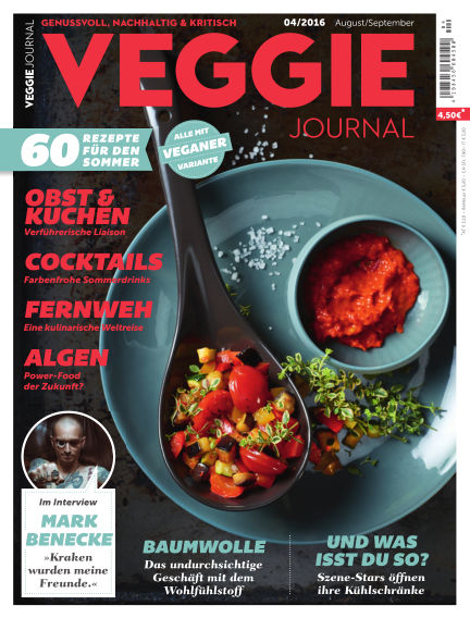 Veggie Journal (eingestellt) July 21, 2016 00:00