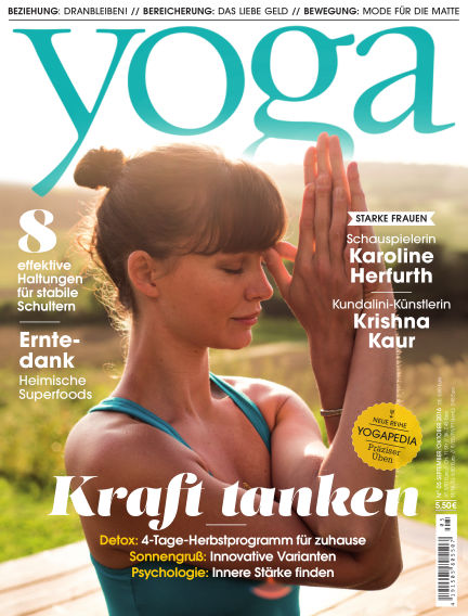 Yoga Journal - DE August 30, 2016 00:00