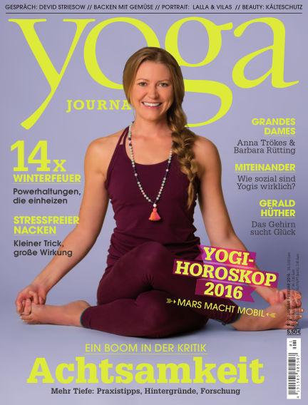 Yoga Journal - DE December 22, 2015 00:00