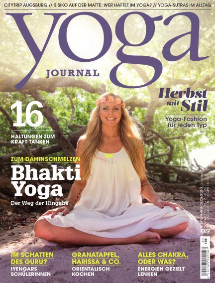 Yoga Journal - DE September 01, 2015 00:00