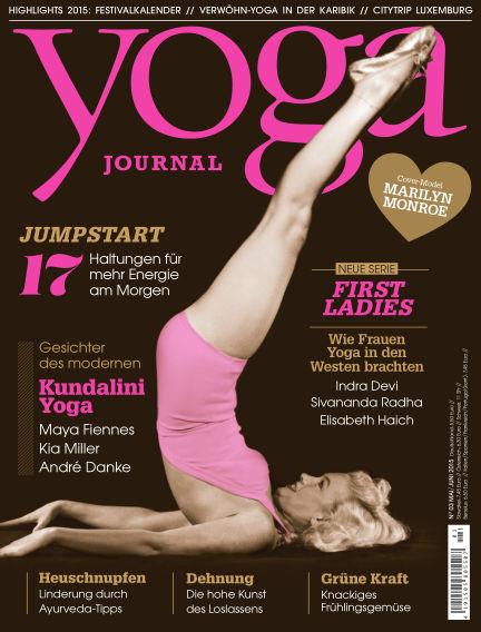 Yoga Journal - DE April 28, 2015 00:00