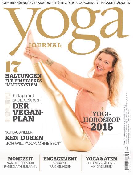 Yoga Journal - DE December 18, 2014 00:00