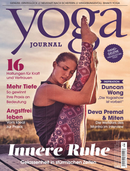 Yoga Journal - DE August 28, 2017 00:00
