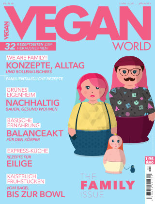 Vegan World 03/18