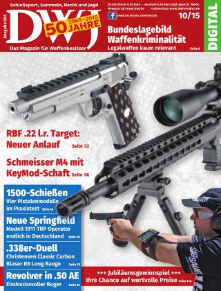 DWJ - Das Magazin für Waffenbesitzer 10/2015