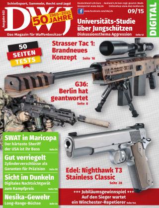 DWJ - Das Magazin für Waffenbesitzer 09/2015