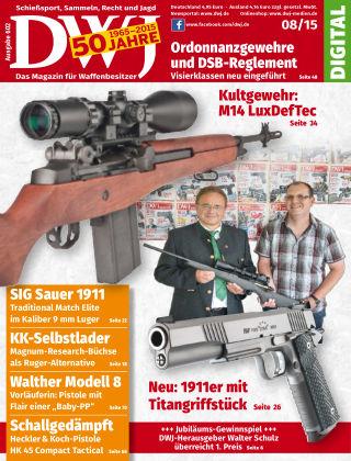 DWJ - Das Magazin für Waffenbesitzer 08/2015