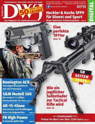 DWJ - Das Magazin für Waffenbesitzer 07/2015