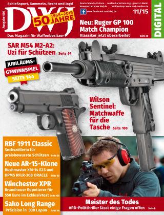 DWJ - Das Magazin für Waffenbesitzer 11/2015