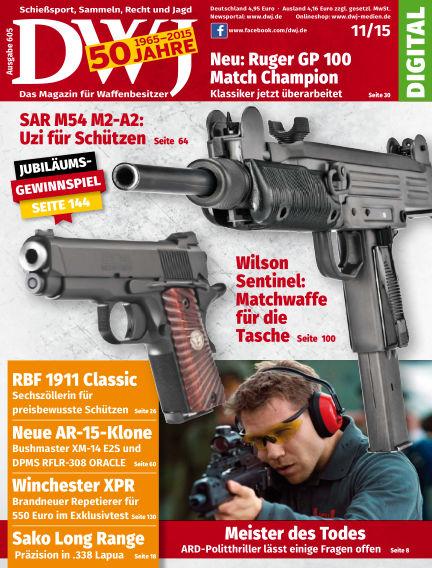 DWJ - Das Magazin für Waffenbesitzer October 20, 2015 00:00