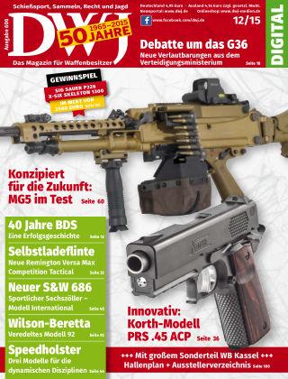 DWJ - Das Magazin für Waffenbesitzer 12/2015