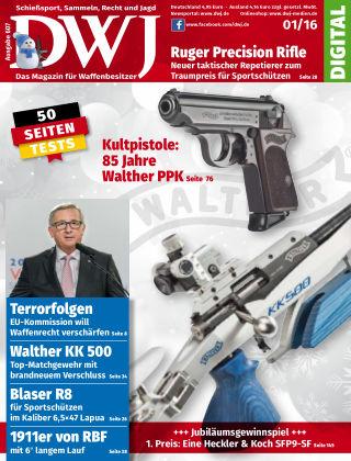 DWJ - Das Magazin für Waffenbesitzer 01/2016