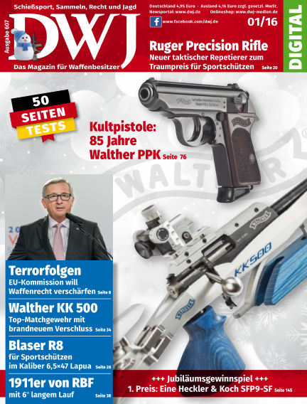 DWJ - Das Magazin für Waffenbesitzer December 16, 2015 00:00