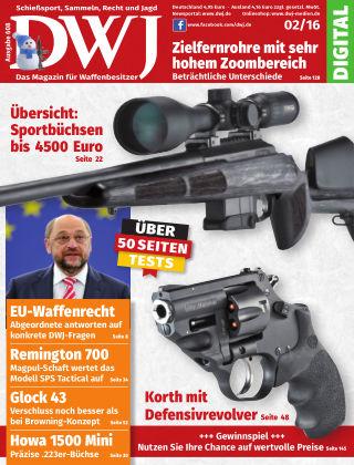 DWJ - Das Magazin für Waffenbesitzer 02/2016