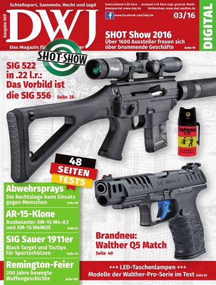 DWJ - Das Magazin für Waffenbesitzer February 17, 2016 00:00