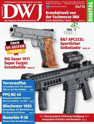DWJ - Das Magazin für Waffenbesitzer 04/2016